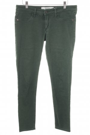 Abercrombie & Fitch Slim Jeans waldgrün Casual-Look