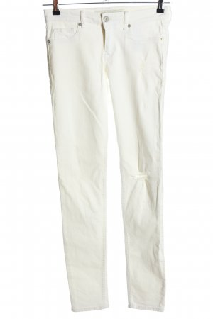 Abercrombie & Fitch Slim Jeans wollweiß Casual-Look