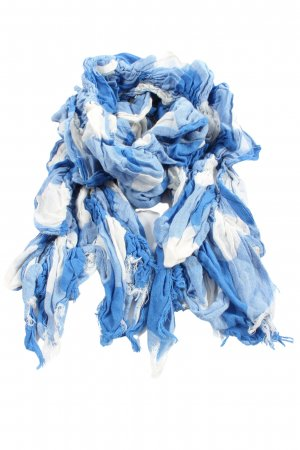 Abercrombie & Fitch Summer Scarf blue-white abstract pattern casual look