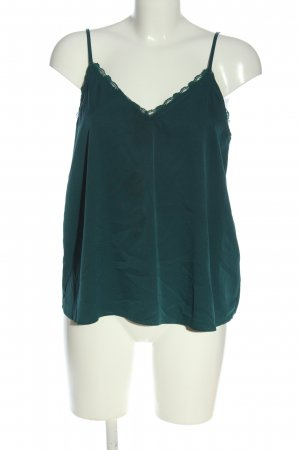 Abercrombie & Fitch Top de tirantes finos verde look casual
