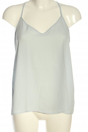Abercrombie & Fitch Top z cienkimi ramiączkami jasnoszary W stylu casual
