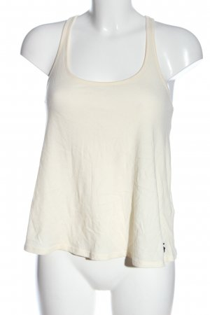 Abercrombie & Fitch Spaghettiträger Top creme Casual-Look