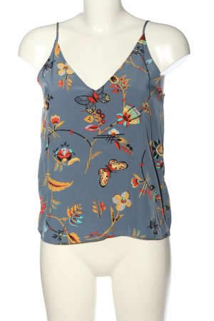 Abercrombie & Fitch Spaghettibandtopje abstract patroon casual uitstraling
