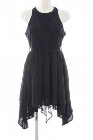 Abercrombie & Fitch Spitzenkleid dunkelblau Elegant