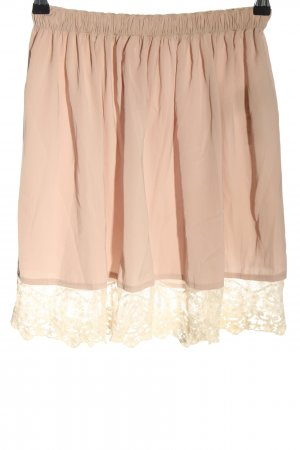 Abercrombie & Fitch Lace Skirt pink casual look