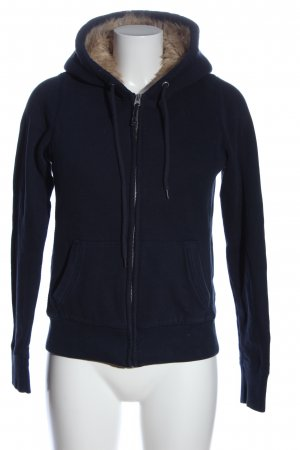Abercrombie & Fitch Chaqueta deportiva azul look casual