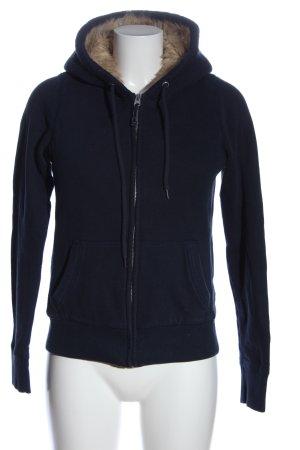 Abercrombie & Fitch Sportjacke blau Casual-Look