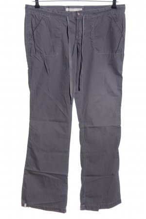 Abercrombie & Fitch Stoffhose hellgrau Casual-Look