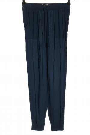 Abercrombie & Fitch Stoffhose blau Casual-Look