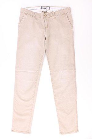 Abercrombie & Fitch Straight Jeans Größe S creme