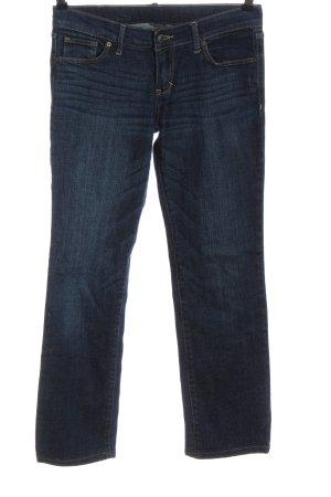 Abercrombie & Fitch Jeans a gamba dritta blu stile casual