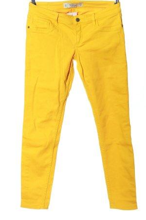 Abercrombie & Fitch Jeansy z prostymi nogawkami jasny pomarańczowy
