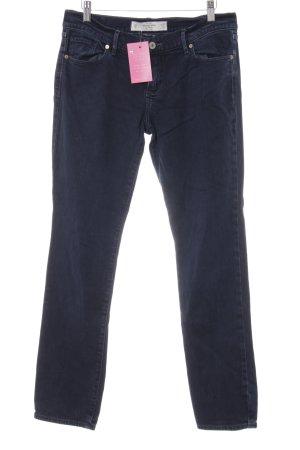 Abercrombie & Fitch Jeansy z prostymi nogawkami ciemnoniebieski W stylu casual