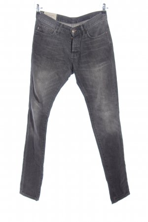 Abercrombie & Fitch Straight-Leg Jeans hellgrau Casual-Look