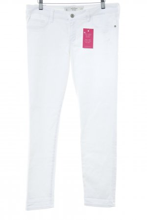 Abercrombie & Fitch Straight-Leg Jeans wollweiß Casual-Look