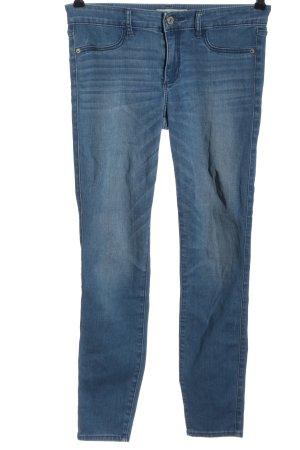 Abercrombie & Fitch Stretch Jeans blau Casual-Look