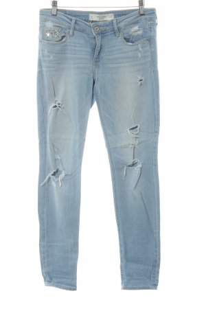 Abercrombie & Fitch Stretch Jeans himmelblau Casual-Look