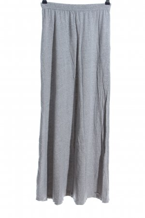 Abercrombie & Fitch Stretchrock hellgrau meliert Casual-Look