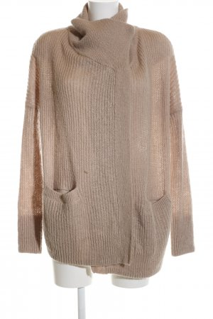 Abercrombie & Fitch Strick Cardigan wollweiß Casual-Look