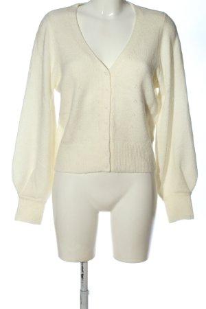 Abercrombie & Fitch Cardigan in maglia crema stile casual