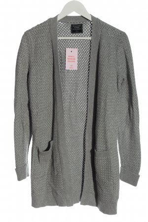 Abercrombie & Fitch Knitted Cardigan light grey casual look