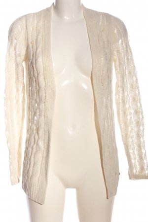 Abercrombie & Fitch Knitted Cardigan white casual look
