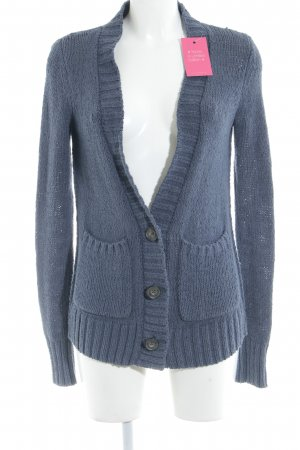 Abercrombie & Fitch Strick Cardigan graublau Casual-Look