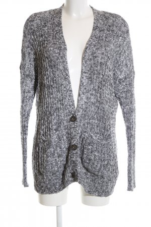 Abercrombie & Fitch Strickjacke hellgrau Casual-Look
