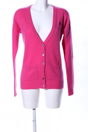 Abercrombie & Fitch Strickjacke pink Business-Look