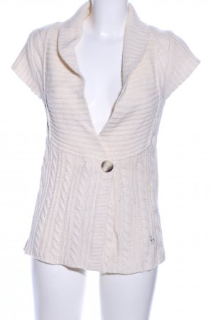 Abercrombie & Fitch Strickjacke creme Casual-Look