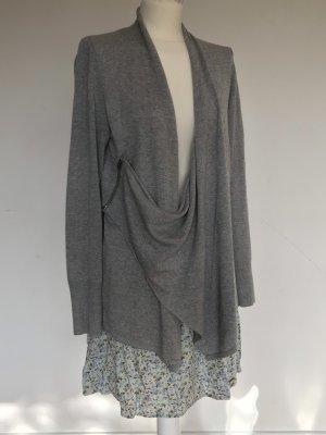 Abercrombie & Fitch Giacca in maglia grigio