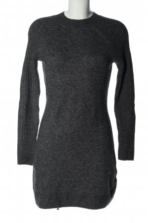 Abercrombie & Fitch Strickkleid hellgrau meliert Casual-Look