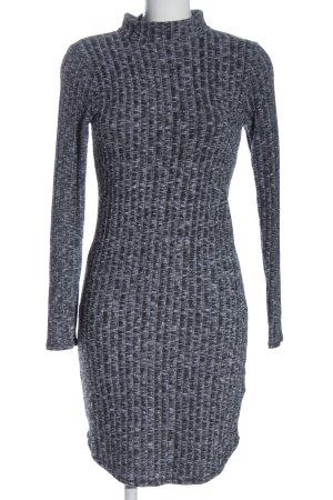 Abercrombie & Fitch Gebreide jurk lichtgrijs casual uitstraling