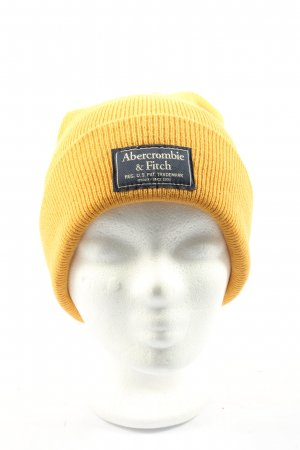 Abercrombie & Fitch Knitted Hat primrose striped pattern casual look