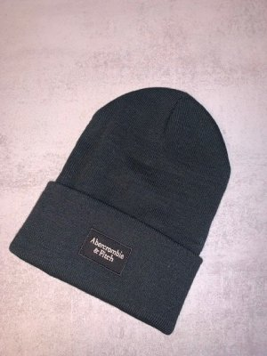 Abercrombie & Fitch Beanie black cotton