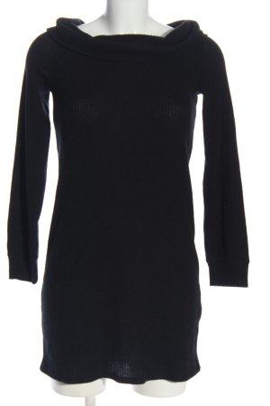 Abercrombie & Fitch Maglione lavorato a maglia nero stile casual
