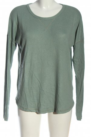 Abercrombie & Fitch Strickpullover grün Casual-Look