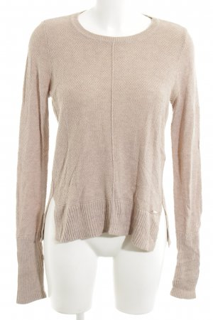 Abercrombie & Fitch Strickpullover nude Casual-Look