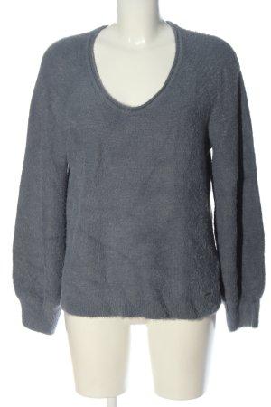 Abercrombie & Fitch Jersey de punto gris claro look casual
