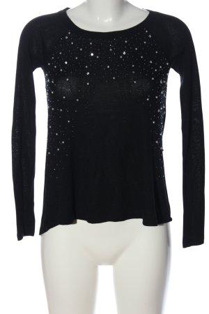 Abercrombie & Fitch Jersey de punto negro look casual