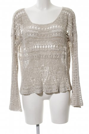 Abercrombie & Fitch Strickpullover creme Casual-Look