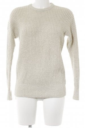 Abercrombie & Fitch Strickpullover creme-goldfarben