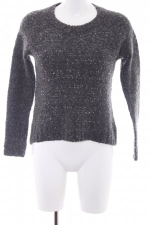 Abercrombie & Fitch Strickpullover grau meliert Casual-Look