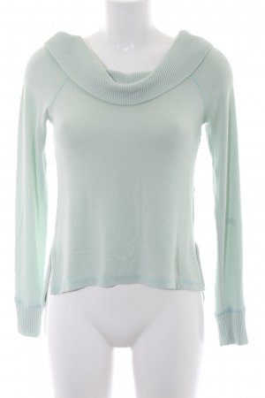 Abercrombie & Fitch Strickpullover türkis Casual-Look