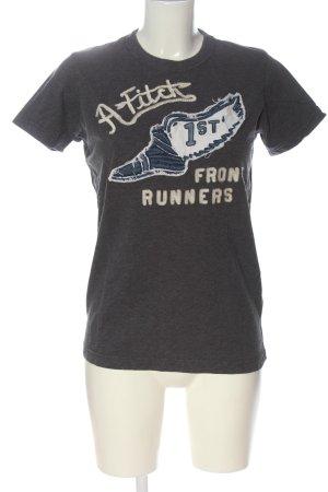 Abercrombie & Fitch Camisa tejida estampado temático look casual