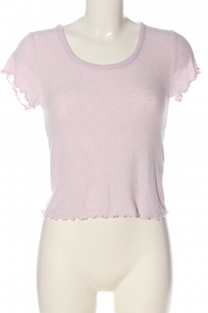 Abercrombie & Fitch Strickshirt lila Casual-Look