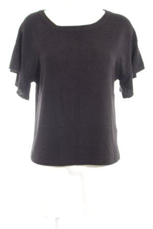 Abercrombie & Fitch Strickshirt schwarz Casual-Look