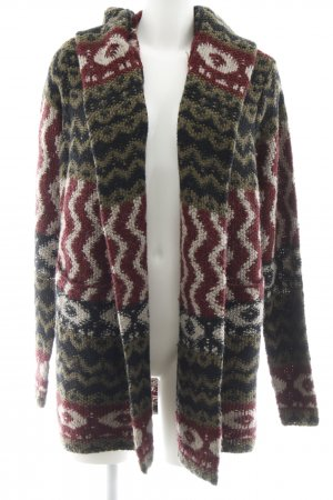 Abercrombie & Fitch Strickweste abstraktes Muster Casual-Look