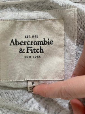 Abercrombie&Fitch Strickweste in Wollweiß Größe M