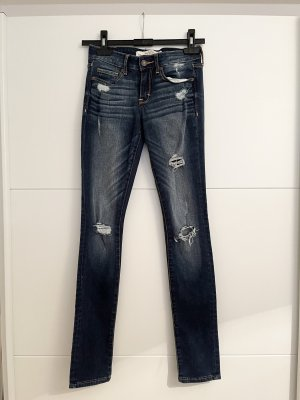 Abercrombie & Fitch Jeans skinny blu-blu scuro